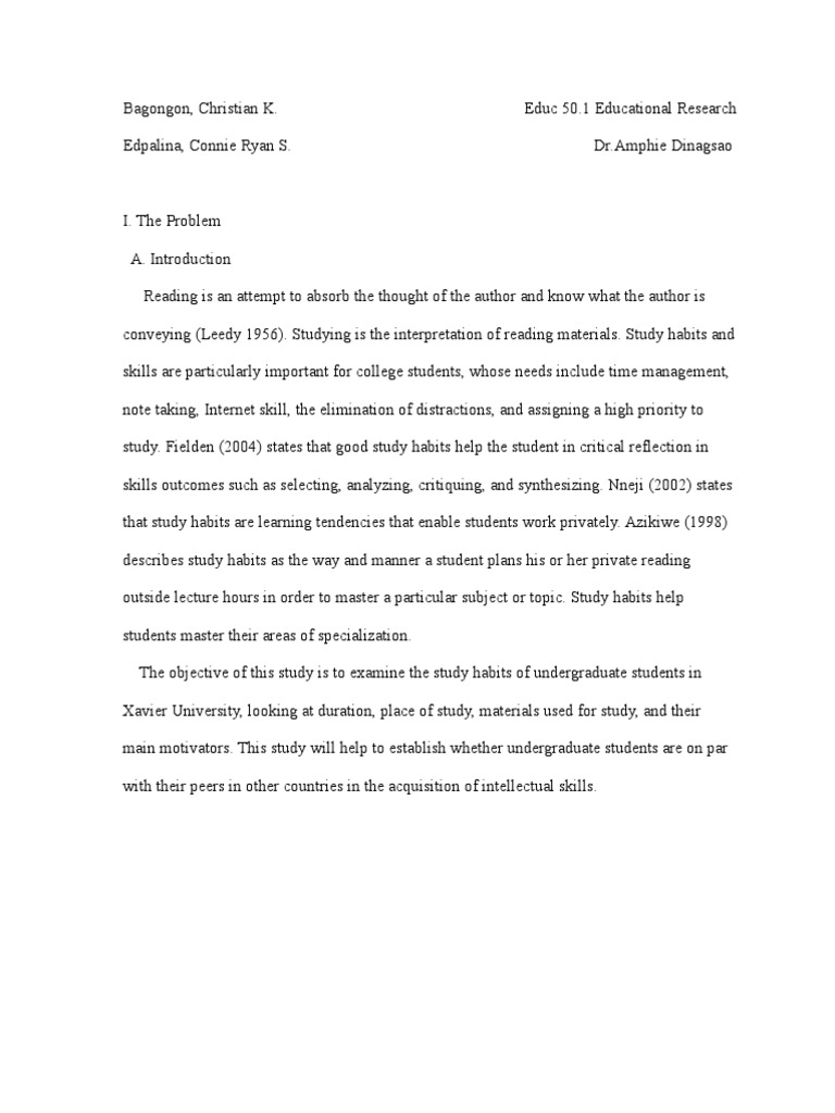 full research paper example