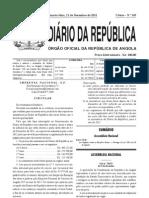 Lei Orgânica das Eleições Gerais de Angola