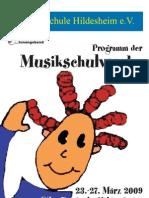 Programm Heft 2009