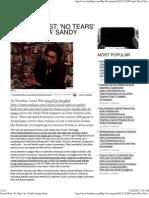 Cornel West 'No Tears' for 'Vanilla' Sandy Hook