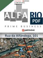 ALFA RIO PRIME BUSINESS da João Fortes na Rua da Alfândega -Corretor MANDARINO - mandarino.patrimovel@gmail.com - (21)7602-8002