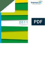 Reporte Sostenibilidad Transelec 2011