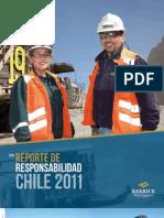 Reporte Responsabilidad Barrick Chile 2011
