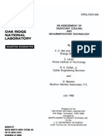 eRep-An Assessment of Desiccant Cooling and Dehumidification Technology, OrNL