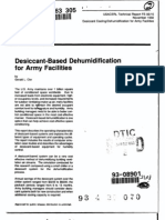 eRep-Desiccant-Based Dehumidification for Army Facilities, USACERL