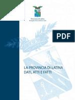 Provincia di Latina - Dati, Atti e Fatti
