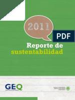 Reporte de Sustentabilidad GEQ 2011
