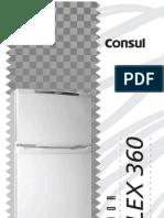 Geladeira Consul manual do proprietário mod CRD36F