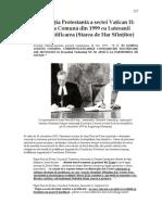 17. Revoluţia Protestantă a sectei Vatican II - Declaraţia Comună din 1999 cu Luteranii privind Justificarea