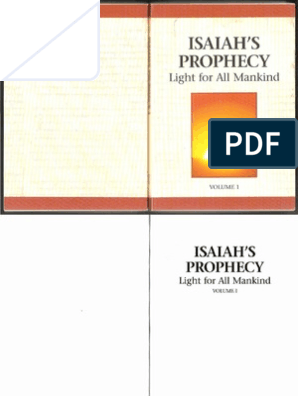 Isaiah prophecy of light   Isaiah   Prophet