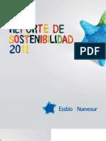 Reporte de Sostenibilidad Essbio 2011