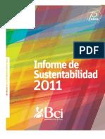 Informe de Sustentabilidad BCI 2011