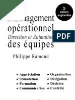 Le Management opérationnel  Direction et Animation des équipes