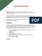 Hyperparathyroisism