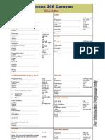 Caravan Checklist