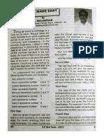 KP Made Easy I by Balasekar KPYB 2003