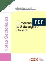 O Mercado da Siderurgia Canadá