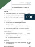 Progressions Paper 1@Set 2(Revised Version 2013)
