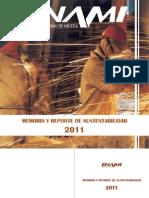Reporte de Sustentabilidad 2011 Enami