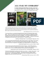 """""""Never Shall I Fail My Comrades"""" -- The Dark Legacy of Gen. McChrystal's Memoir """"My Share of the Task"""""""