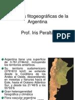 Regiones Fitogeograficas de La Argentina