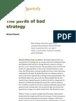 McKinsey - The Perils of Bad Strategy - Richard Rumelt
