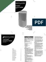 Bionaire Twinheat™ Ceramic Heater BCH3220