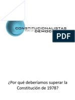 Por qué con esta Constitución NO