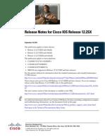 Cisco Release Notes