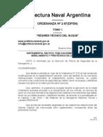 Regimen Tecnico Del Buque
