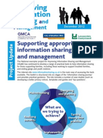 Improving Information Sharing and Management project newsletter Winter 2012