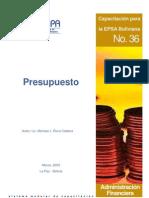 Presupuestos EPSAS