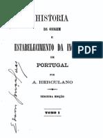 História da origem e do estabelecimento da Inquisição em Portugal, vol. 1