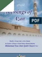 Blessings of Azan