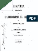 História da origem e do estabelecimento da Inquisição em Portugal, vol. 2