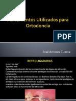 Aditamentos Utilizados Para Ortodoncia