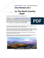 Military Resistance 10L17 the North Country Dead