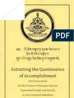 83043459 Dudjom Rinpoche Extracting the Quintessence of Accomplishment