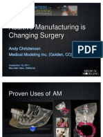 Additive Manufacturing is Changing Surgery