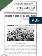 Tratamiento y mejora de los suelos incultos. Creación de viñas y elección de porta-injertos. (1935)