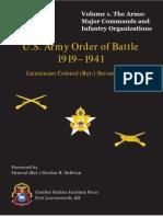 WWII Army Units History I