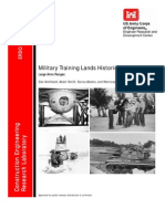 Military Range Buildings History