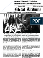 Heavy Metal Tribune Issue 6 (January 2013)