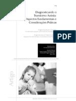 Silva e Mulik - 2009 - Diagnosticando o Transtorno Autista