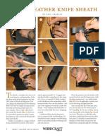 Knifesheathinstructions&Pattern