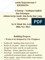 Earthwork design for civil and structural engineering works