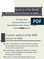 health sector reform in India