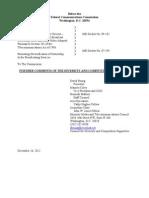 DCS Minority Ownership Further Cmnts 122612