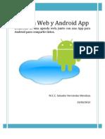 Agenda Web y App Android