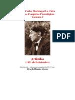 Vol 02 - MARIATEGUI - Obras Completas Cronológicas. 1923. (HISTORIA DE LA CRISIS MUNDIAL) (AUDIOLIBROS)